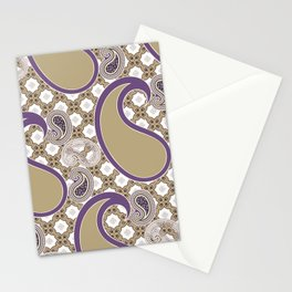 Chain 'em in Purp Stationery Cards