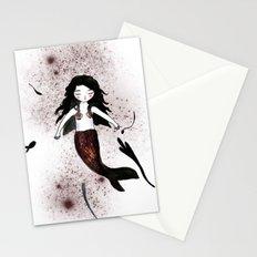 Noir Mermaid Stationery Cards