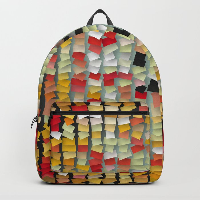 colored notes Backpack