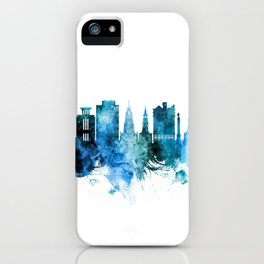 Charleston South Carolina Skyline iPhone Case