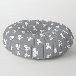 Scull pattern Floor Pillow