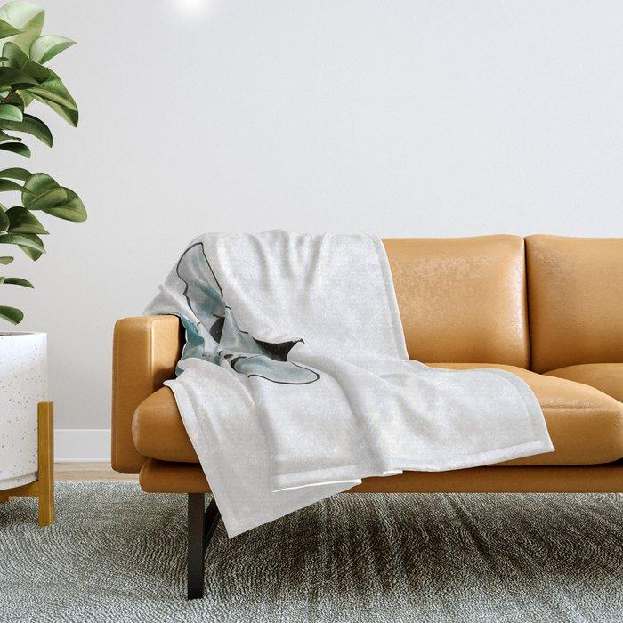 Happy Baby Giraffe Throw Blanket