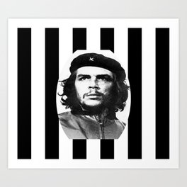 Che revolutionary rebel art work Art Print