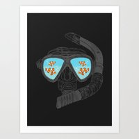 Underwater Attractions  Art Print