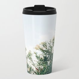 Neutral Spring Tones Metal Travel Mug