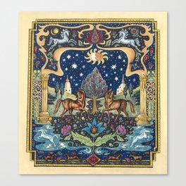 Dream World by Nettwork2Design -  Nettie Heron-Middleton Canvas Print
