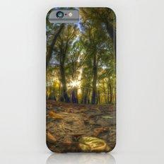 Painted woods Slim Case iPhone 6s