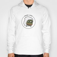 meme Hoodies featuring MEME LORD by tRUSTY_Bot