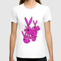 bunnies T-shirts featuring Bunnies by Christa Bethune Smith