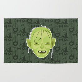 Gollum - Lord of the rings Rug