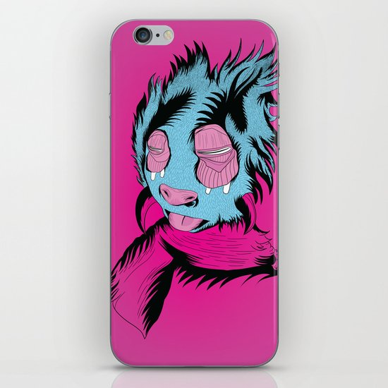 Funny Guy iPhone & iPod Skin