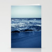 wave Stationery Cards featuring Wave by Michelle McConnell