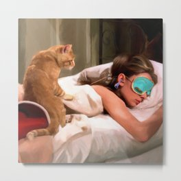 Audrey Hepburn #4 @ Breakfast at Tiffany's Metal Print