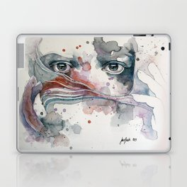 A sealed thought Laptop & iPad Skin
