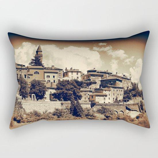 Old Town II Rectangular Pillow