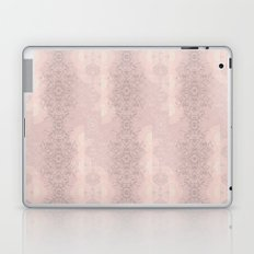 Floral Lace // Pink Semi-Circles Laptop & iPad Skin
