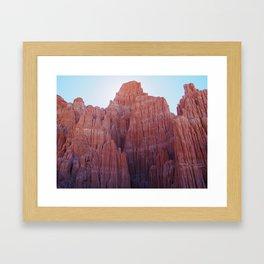 Cathedral Gorge 1 Framed Art Print