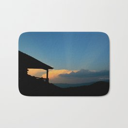 Sweet Silhouette * Little Switzerland  Bath Mat