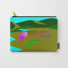 My Colorful and True Ode to Beautiful Appalachia! Carry-All Pouch