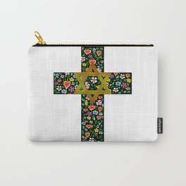 Christian David Cross Carry-All Pouch