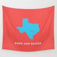 texas Wall Tapestries featuring Texas by Hunter Ellenbarger