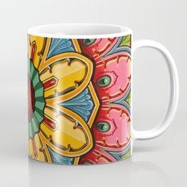 Indian Mandala Flower Coffee Mug