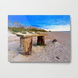 Sit and Rest Awhile Metal Print