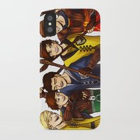 quidditch iPhone & iPod Cases featuring Quidditch by Plebnut