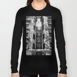 New York fire escapes Long Sleeve T-shirt