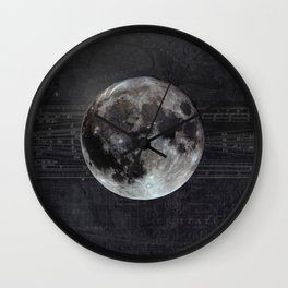 The Moon Wall Clock