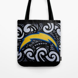 POLY SanDiego CHARGERS Tote Bag