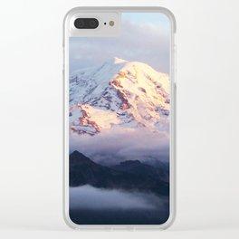 Marvelous Mount Rainier 2 Clear iPhone Case