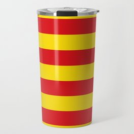Catalonian flag of Catalan - Senyera Travel Mug