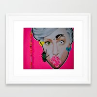 artrave Framed Art Prints featuring artRAVE by Sabino Martinez