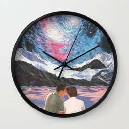 An Astral Affair Wall Clock