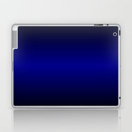 Black highlight blue Laptop & iPad Skin
