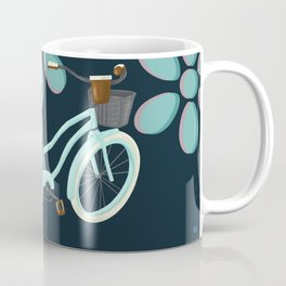 My Bike Floral Coffee Mug