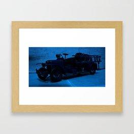 Lost Cars Nine Framed Art Print
