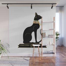 Egyptian Cat Sphynx Wall Mural