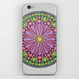 Mandala 5 iPhone Skin