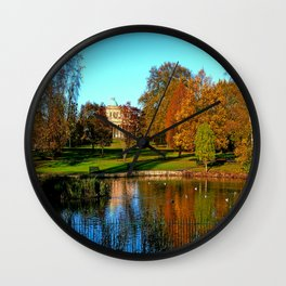 Colourful Pittville Wall Clock