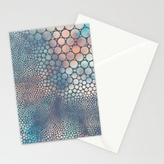 Dream Circles Charcoal Stationery Cards
