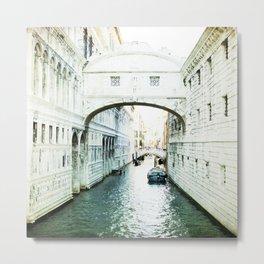 The Bridge of Sighs - Venice Metal Print