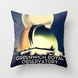 Royal Observatory Greenwich London Throw Pillow