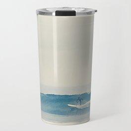 Surfer at Churches Travel Mug