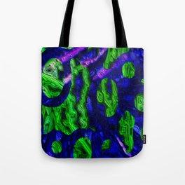 Blue Discontinuity II Tote Bag