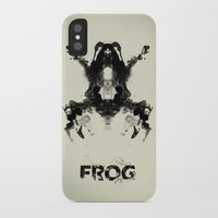 frog iPhone & iPod Cases featuring FROG by Alex Chen