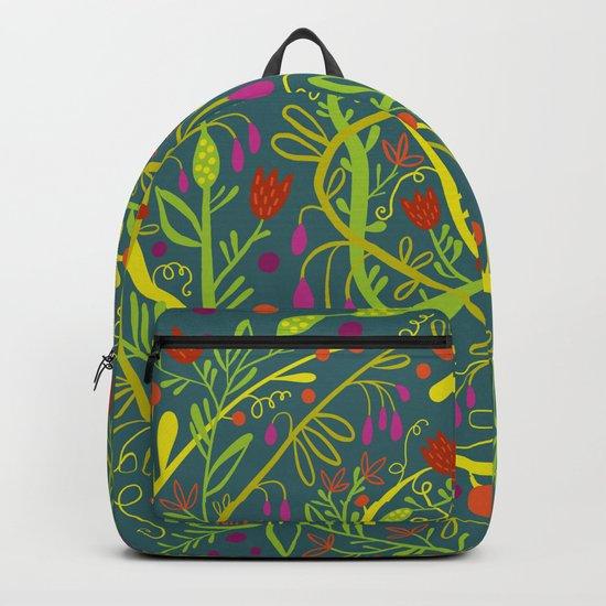 Dark Garden Gone Wild Backpack