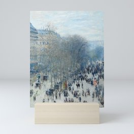Claude Monet - Boulevard des Capucines, 1873 Mini Art Print