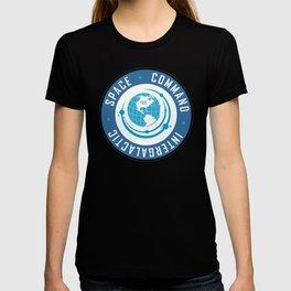 Intergalactic Space Command Logo 2 T-shirt